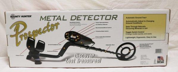 Bounty Hunter Prospector Detector back view
