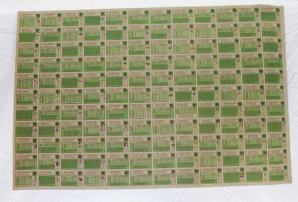 1984 Topps Football Cards back