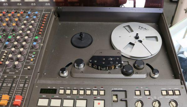 Tascam Studio Mixing Console reel