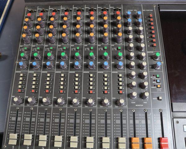 Tascam Studio Mixing Console control;s