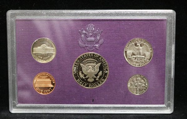 1992-S Proof Coin Set back
