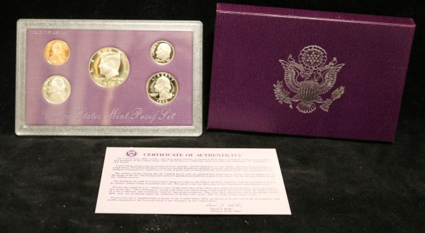 1993-S Proof Coin Set main