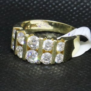 Two Row Diamond Ring
