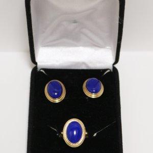 Lapis Lazuli Jewelry Set main