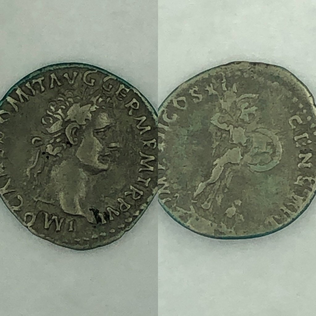 Roman Coin that says German ?