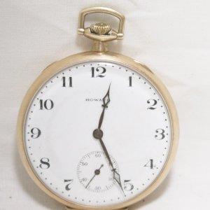 1912 Howard Pocket Watch main pict