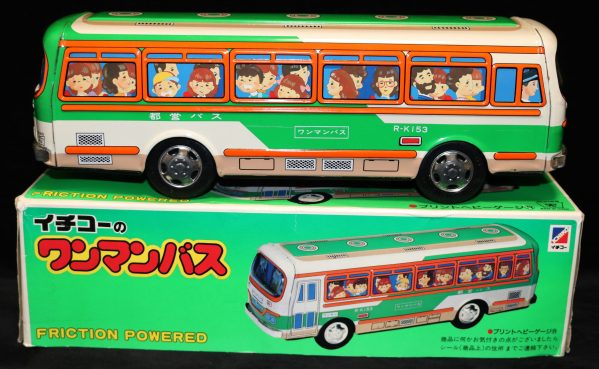Ichiko Tin Litho Bus side