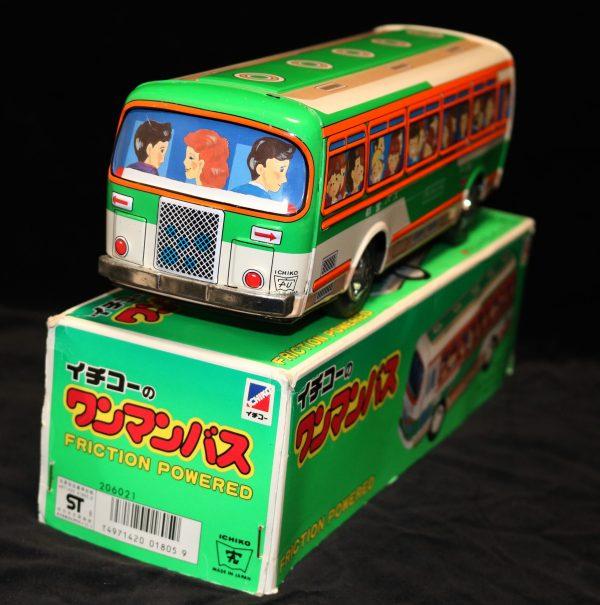 Ichiko Tin Litho Bus back