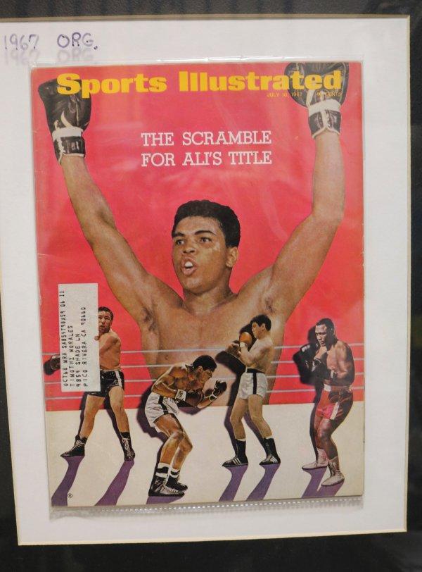 Muhamed Ali Sports Illustrated mag