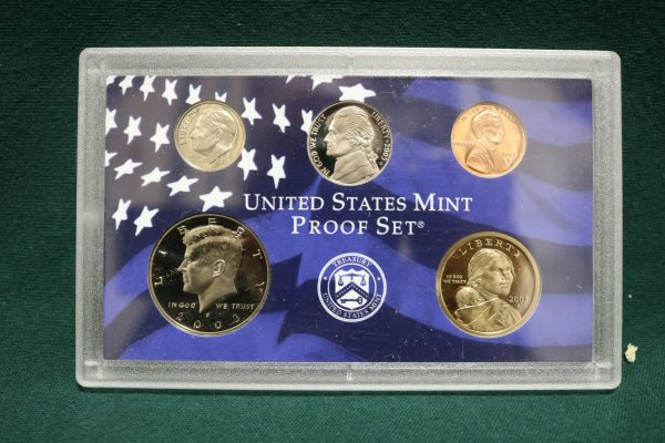 2003-S Proof Coin Set front