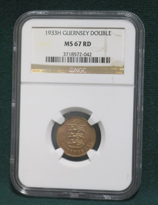 Guernsey 1933 Double Coin main