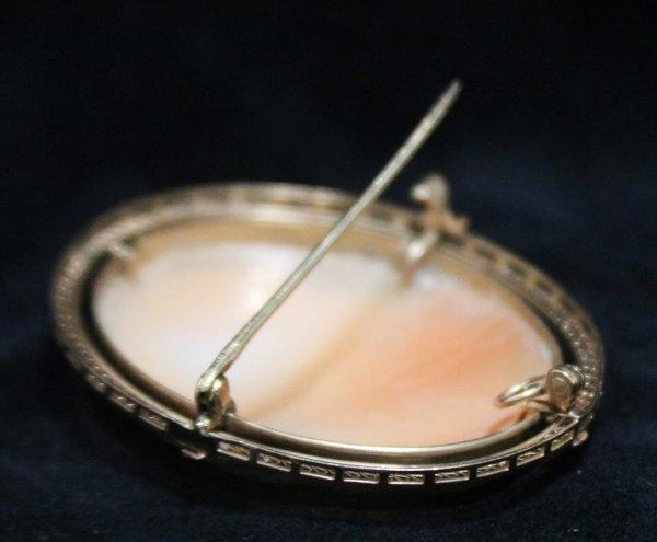 Cameo Broach Necklace Pendant pin
