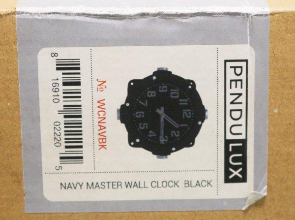 Pendulux Navy Master Clock lable