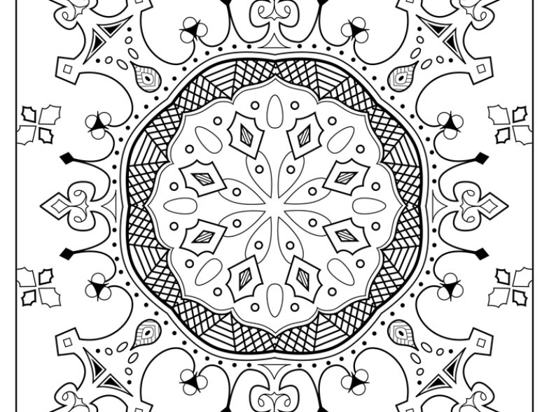 Savor the Calm of Coloring Pages