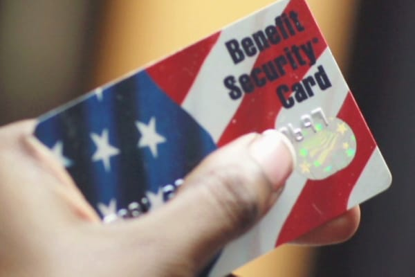 It looks just like a credit card, but you won't have to pay interest on purchases since you aren't. Food Stamp Scam: Baltimore Scheme Got $16 Million Before Detected - American Lookout
