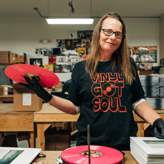 Making a Vinyl Record with QRP & Vinyl Me, Please