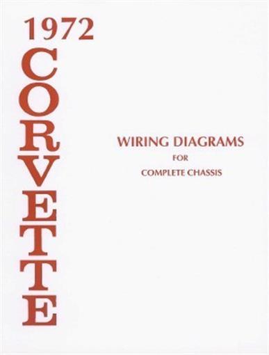 Home Alarm Wiring Diagrams Color Code Corvette 1972 Wiring Diagram 72 Vette Ebay