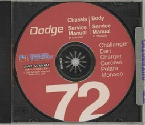 Dodge Charger And Coronet 1972 Complete Wiring Diagram All About