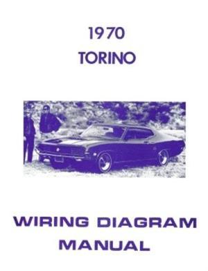 FORD 1970 Torino Wiring Diagram Manual 70 | eBay