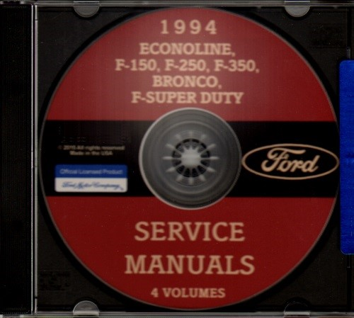 1994 Ford Bronco And F150 F250 F350 Electrical Troubleshooting Manual