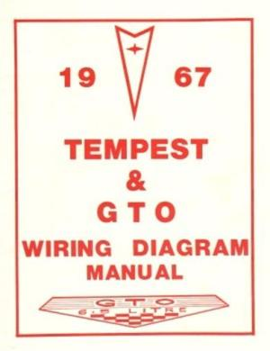 PONTIAC 1967 Tempest & GTO Wiring Diagram 67   eBay