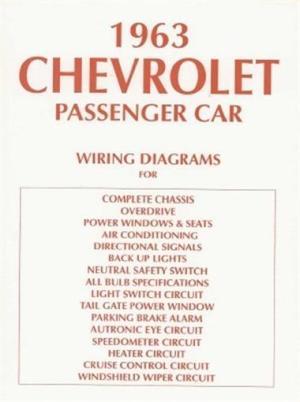 CHEVROLET 1963 Impala, Bel Air & Biscayne Full Size Car