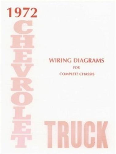 details about chevrolet 1972 truck wiring diagram 72 chevy pick up