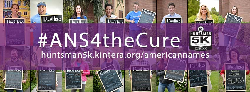 ans for the cure, huntsman cancer institute, team zurixx