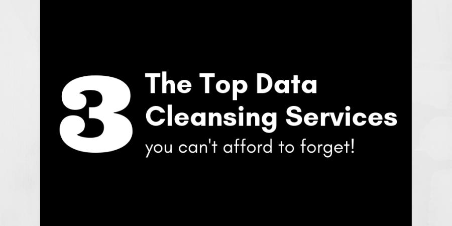 data cleansing, data hygiene. direct mail