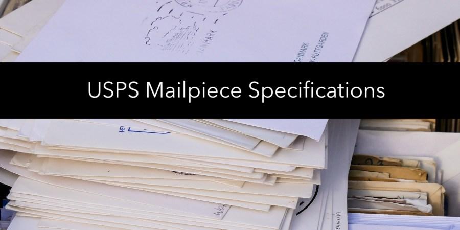 Mailpiece Specs