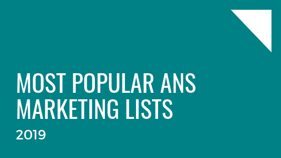 Most popular marketing lists