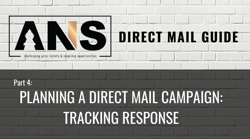Direct Mail Guide Part 4: Tracking Reponse