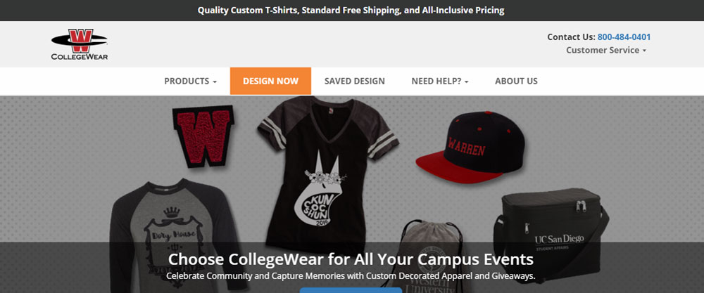 Collegewear solution