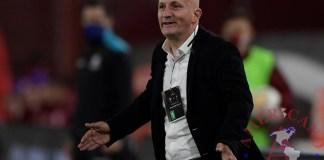 El entrenador Pablo Repetto. EFE/Juan Mabromata /Archivo