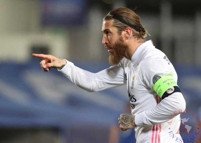 El defensa del Real Madrid, Sergio Ramos