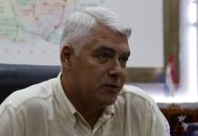 El ministro de Obras Públicas y Comunicaciones de Paraguay