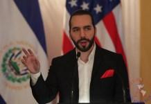 del presidente de El Salvador, Nayib Bukele