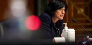 la directora de los Centros para el Control y la Prevención de Enfermedades, la Dra. Rochelle Walensky