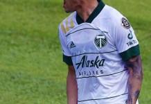 El jugador Felipe Mora