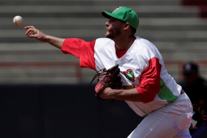En la imagen, el lanzador cubano Lázaro Blanco.