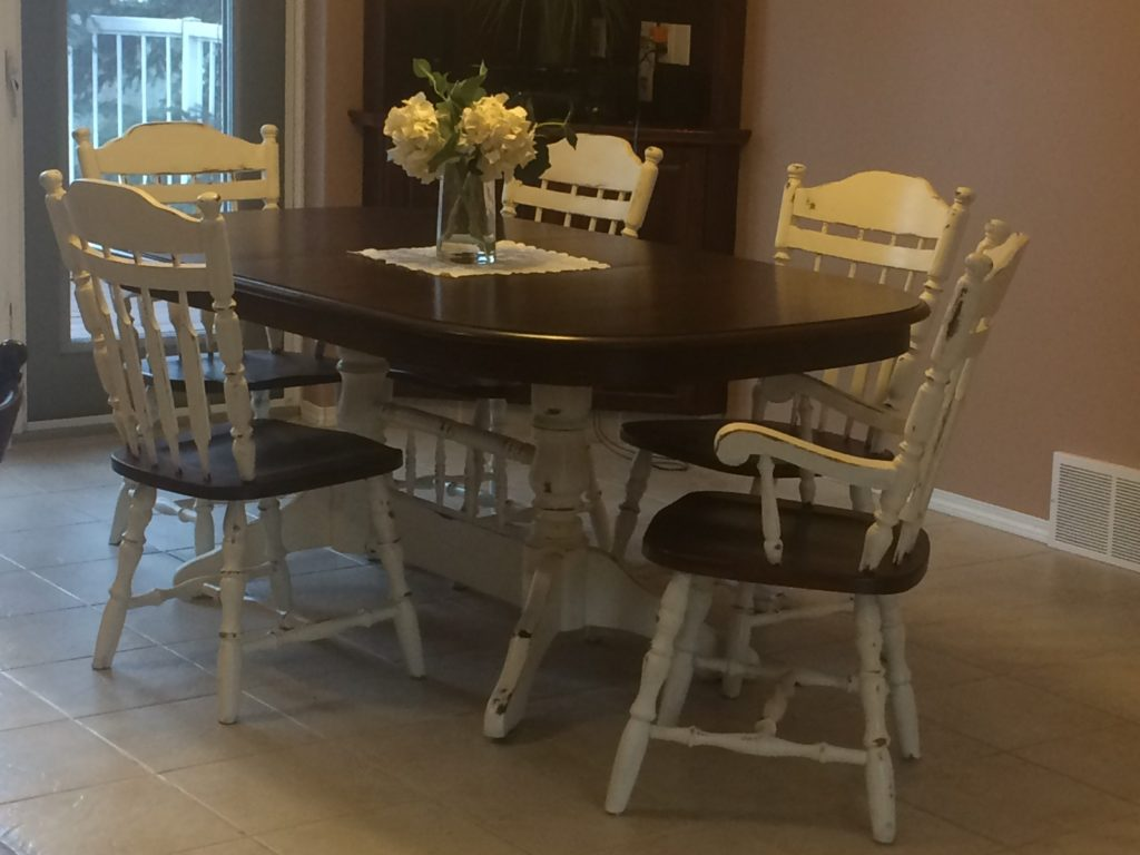 Repainting A Dining Room Table Set American Paint Company