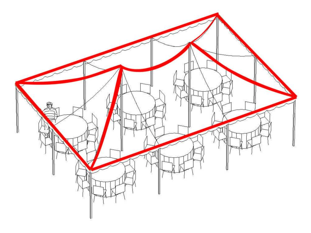 medium resolution of corner to peak lighting