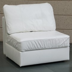 Love Sac Chair Transparent Polycarbonate Chairs White Leather Lovesac No Arms American Party Rentals