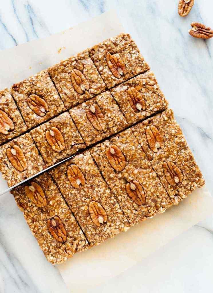 No Bake Pecan Granola Bars Recipe - American Pecan Council
