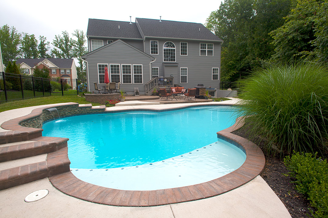 Home Pool in Woodbridge VA  American Pool