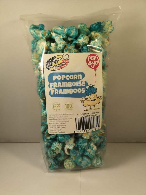 Popcorn framboise