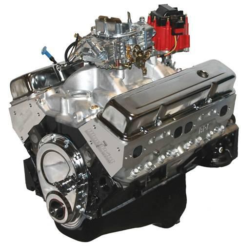 GM 383 Dressed Engine Aluminum Heads Flat Tappet Cam