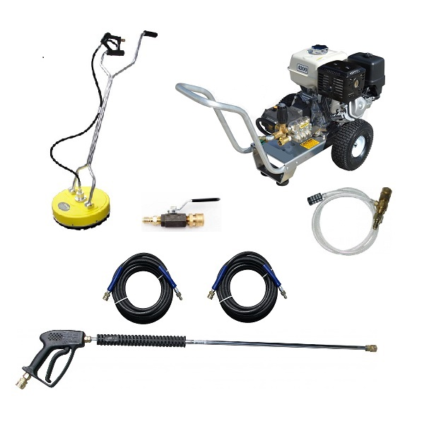 GX390 HONDA 4 GPM 4200 PSI COMMERCIAL PRESSURE WASHER