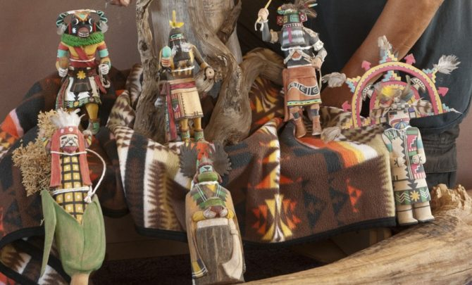 Hopi Katsina or Kachina Dolls  American Profile