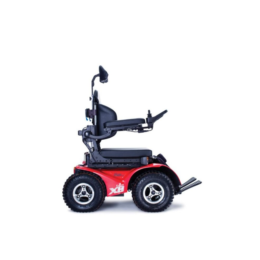 all terrain electric wheelchair ergonomic chair wayfair extreme x8 power fire engine red